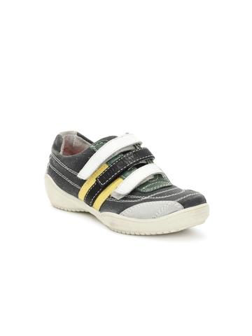 Enroute Boys Grey Casual Shoes