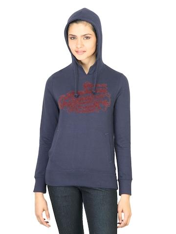Wrangler Women American Blue Sweatshirt