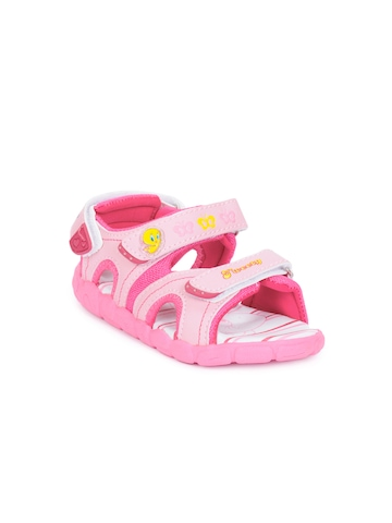 Warner Bros Kids Unisex Pink Sandals