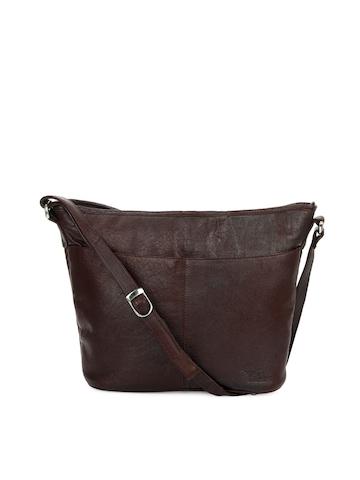 Hidekraft Women Brown Handbag