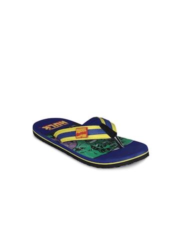 Kids Ville Boys Blue Flip Flops