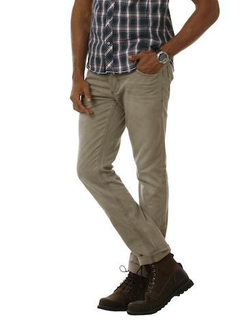 Jack & Jones Men Brown Jeans