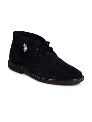 U.S. Polo Assn. Men Navy Blue Shoes