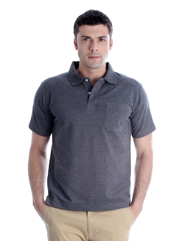 Proline Men Charcoal T-shirt