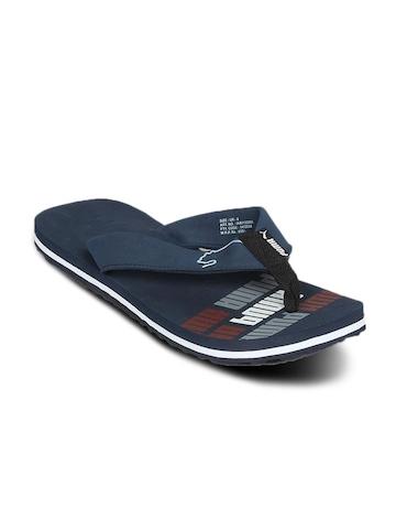 Puma Unisex Issac Navy White Flip Flop