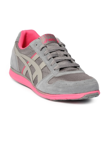 ASICS Women Gel Spree Running Grey Sports Shoes