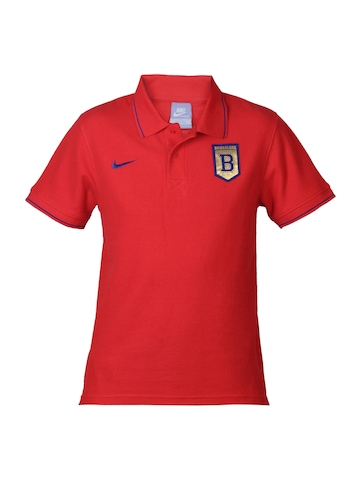Nike Men Red Bangalore Polo T-shirt
