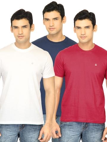 Undercolors of Benetton Men T-Shirts Red Innerwear T-shirt