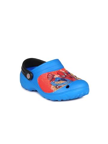 Marvel Boys Blue Slippers