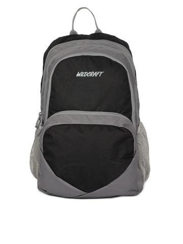 Wildcraft Unisex Reflex Black Backpack