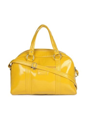 Paridhan Women Yellow Handbag