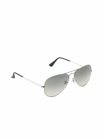 Ray-Ban Men Aviator Steel Sunglasses