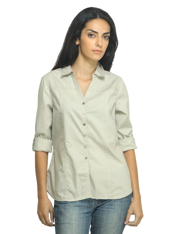 Scullers For Her Beige Shirt