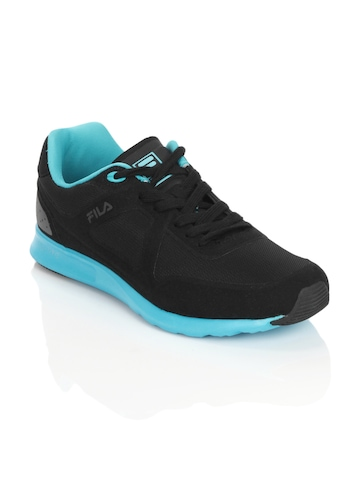 Fila Men Cerchi Lite Black Sports Shoes