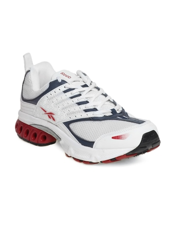 Reebok Men White Turbo Sports Shoes