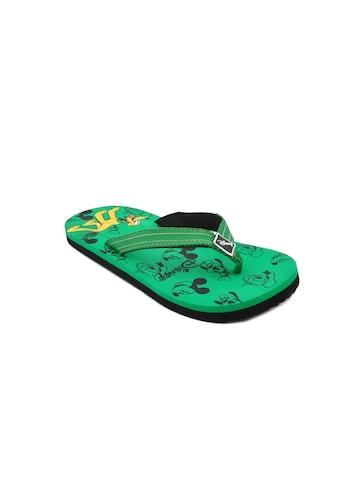 Disney Unisex Kids Pluto Green Flip Flops