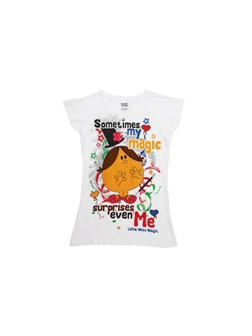 Mr. Men Little Miss Girls White Tops