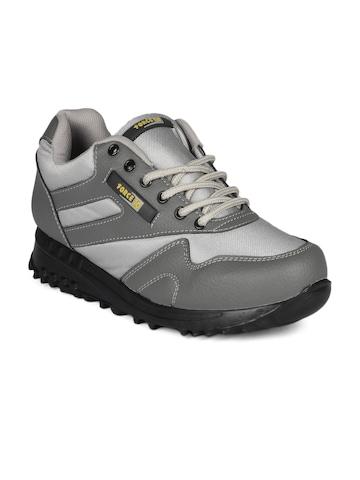 Force 10 Men Grey Sports Shoes