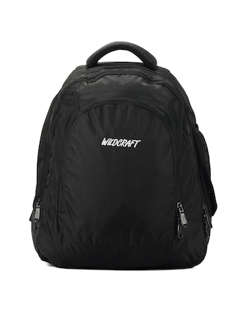 Wildcraft Unisex Gear for Life Black Backpack