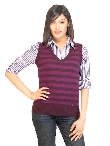 Arrow Woman Ester Purple Sweater