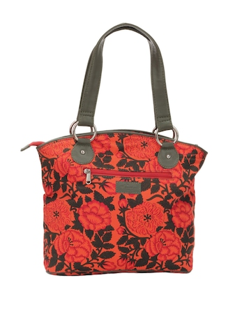 Paridhan Women Orange Handbag