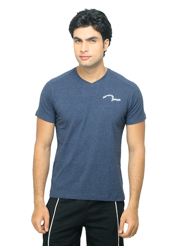 Spykar Men Navy Blue V-Neck Innerwear T-shirt