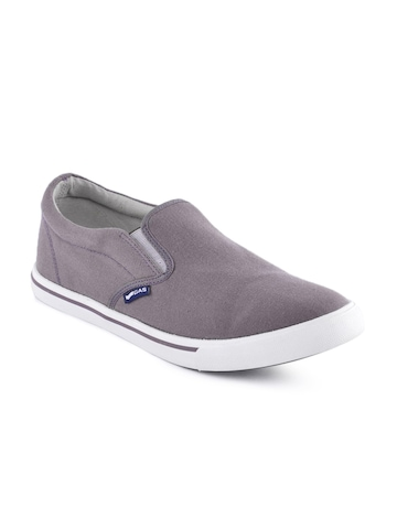 Gas Men Aishley Greyish Purple Casual Shoes