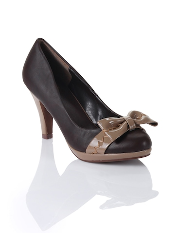 Cobblerz Women Brown Pumps