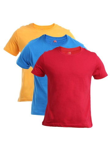 Myntra Men Pack of 3 T-shirts