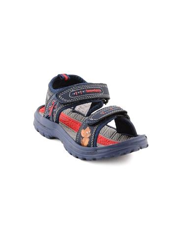 Warner Bros Kids Unisex TJ Jerry  Navy Blue Sandals
