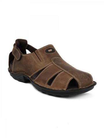Hush Puppies Men Decent Brown Sandals
