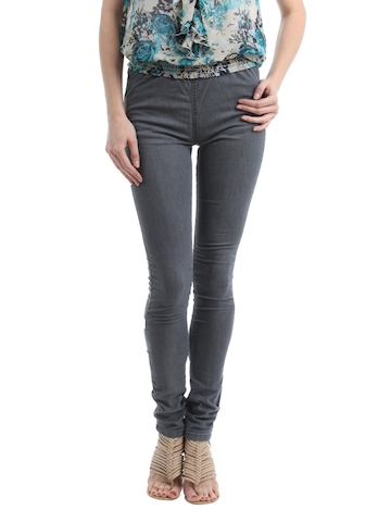 Kraus Jeans Women Grey leggings