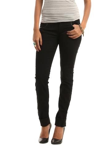 Wrangler Women Black Molly Jeans