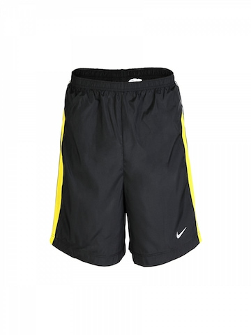 Nike Men Black Reflective Shorts