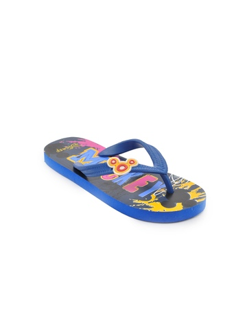 Disney Unisex Kids Basic Navy Blue Flip Flops