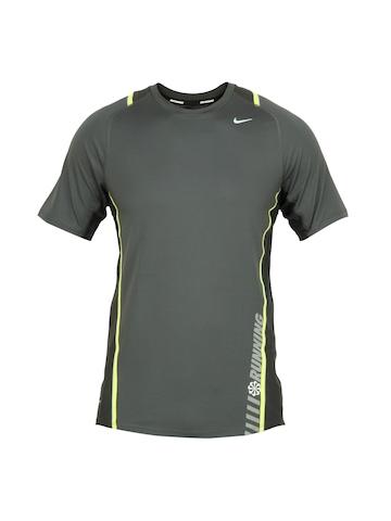 Nike Men Grey T-shirt