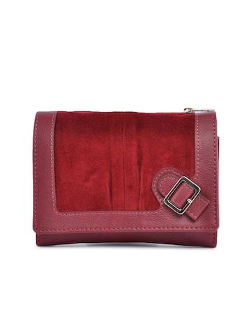 Baggit Women Red Famous Taj Wallet