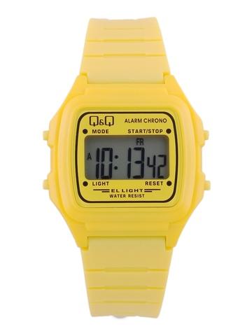 Q&Q Kids Unisex Yellow Digital Watch
