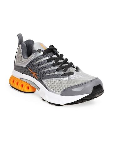Reebok Men Grey Turbo DMX Shear Sports Shoes
