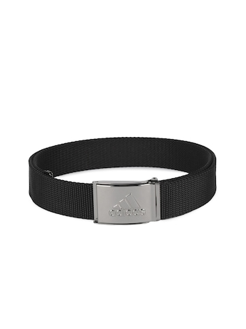 Adidas Unisex Black Urban Belt