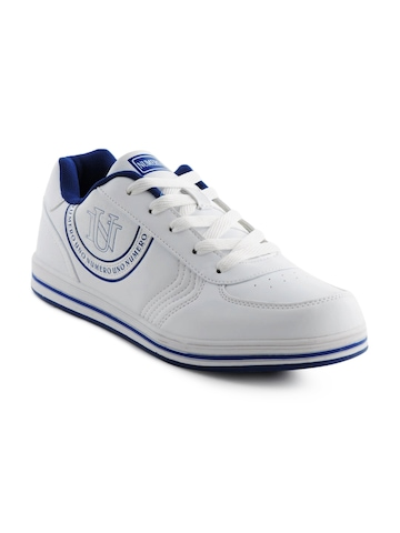 Numero Uno Men White Casual Shoes