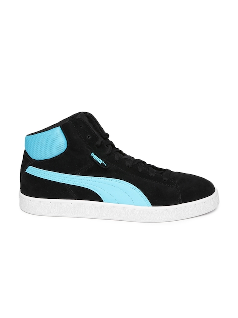 puma unisex red 1948 mid casual shoes