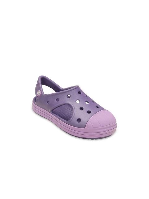 Crocs Boys Purple Clogs