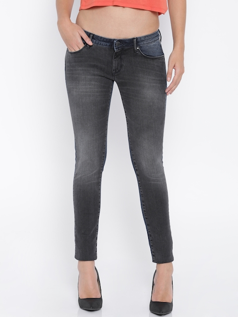 Lee Grey Maxi Skinny Fit Jeans