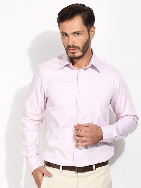 Blackberrys Pink Classic Fit Formal Shirt