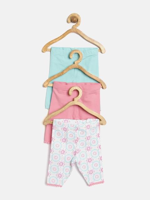 mothercare Girls Pack of 3 Printed Leggings