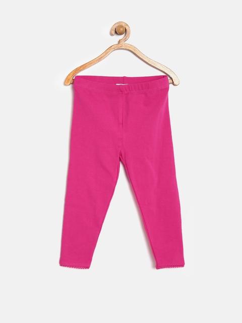 Sera Girls Pink Leggings