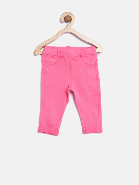 mothercare Girls Pink Jeggings