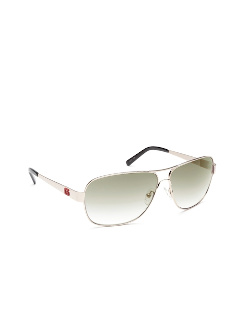GUESS Unisex Rectangular Sunglasses 6823 10B