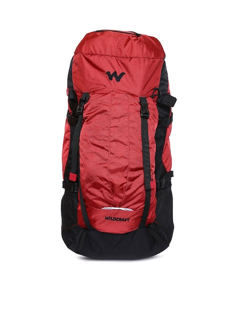 Wildcraft Men Red Savan D Plus Rucksack